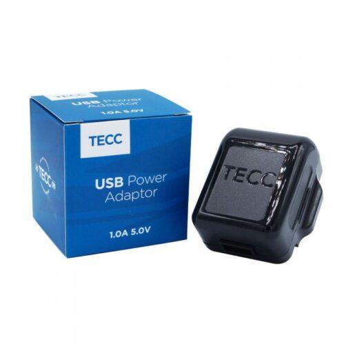 TECC 1.0A USB Wall Adaptor