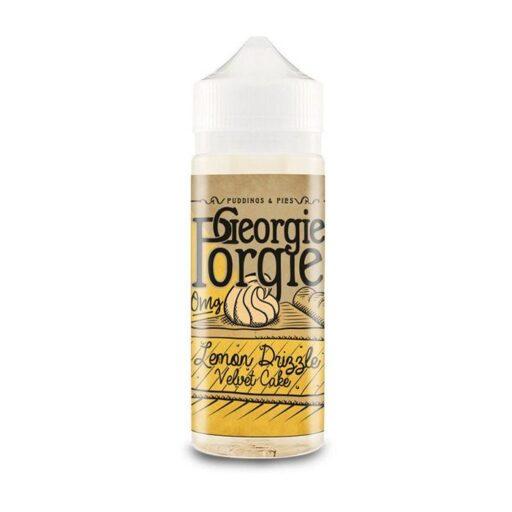 Georgie Porgie Lemon Drizzle Velvet Cake